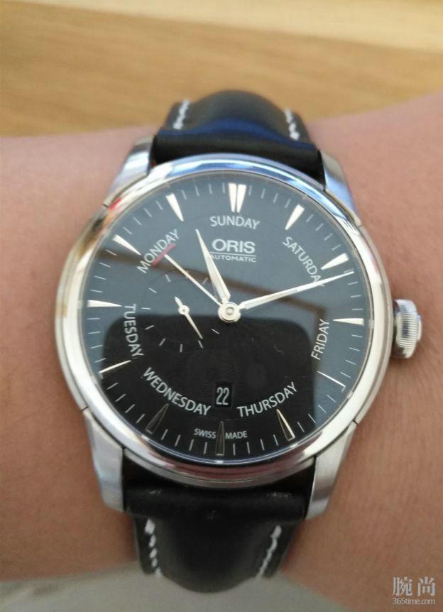 陪伴我三年的好朋友 豪利时文化小秒针腕表