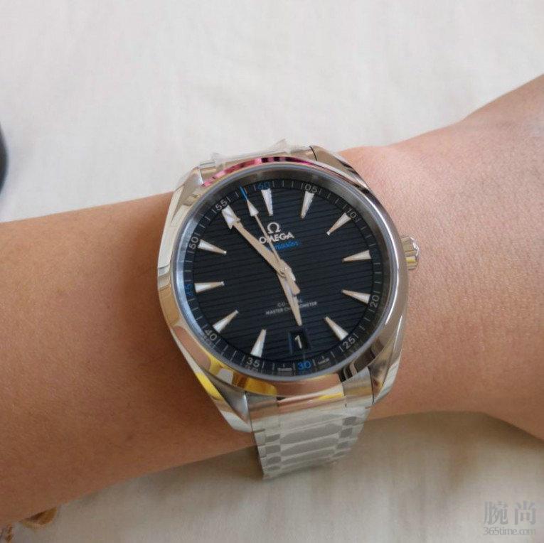 送老爸的生日礼物,欧米茄海马至臻天文台41毫米腕表!