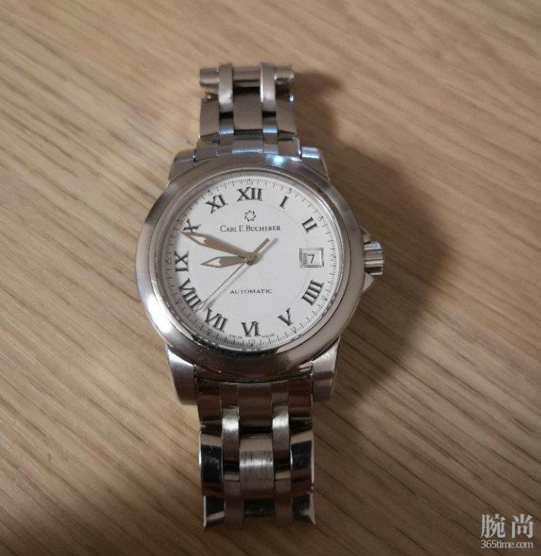 正装表就是要低调不张扬,瑞士入手宝齐莱柏拉维38白盘