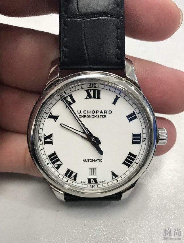 人生第一块正装腕表,萧邦L.U.C8558白盘入手作业