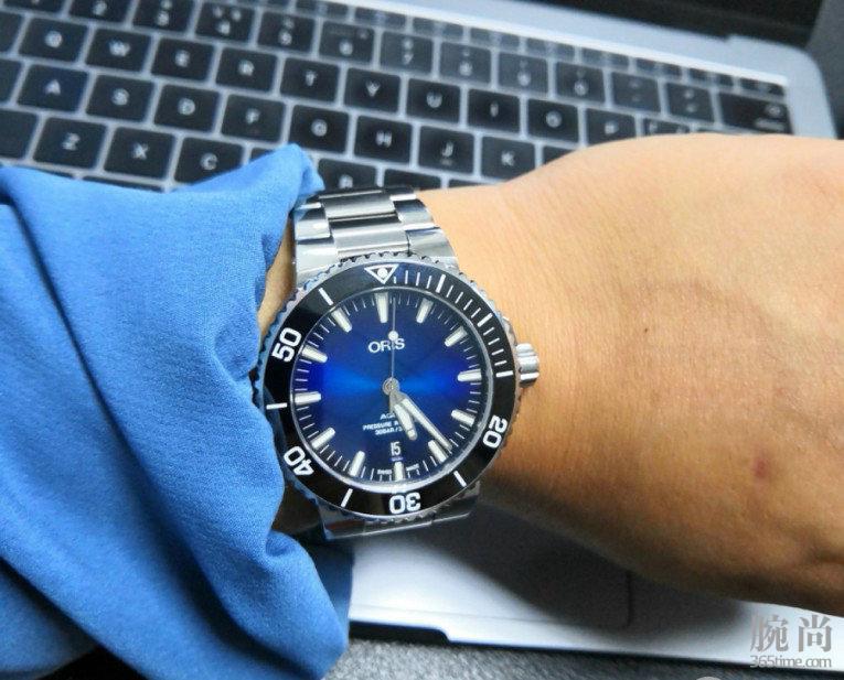 就为了这抹蓝!入手豪利时潜水系列克利伯顿岛