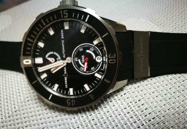 执着追寻,终入雅典新款潜水系列1183黑盘!