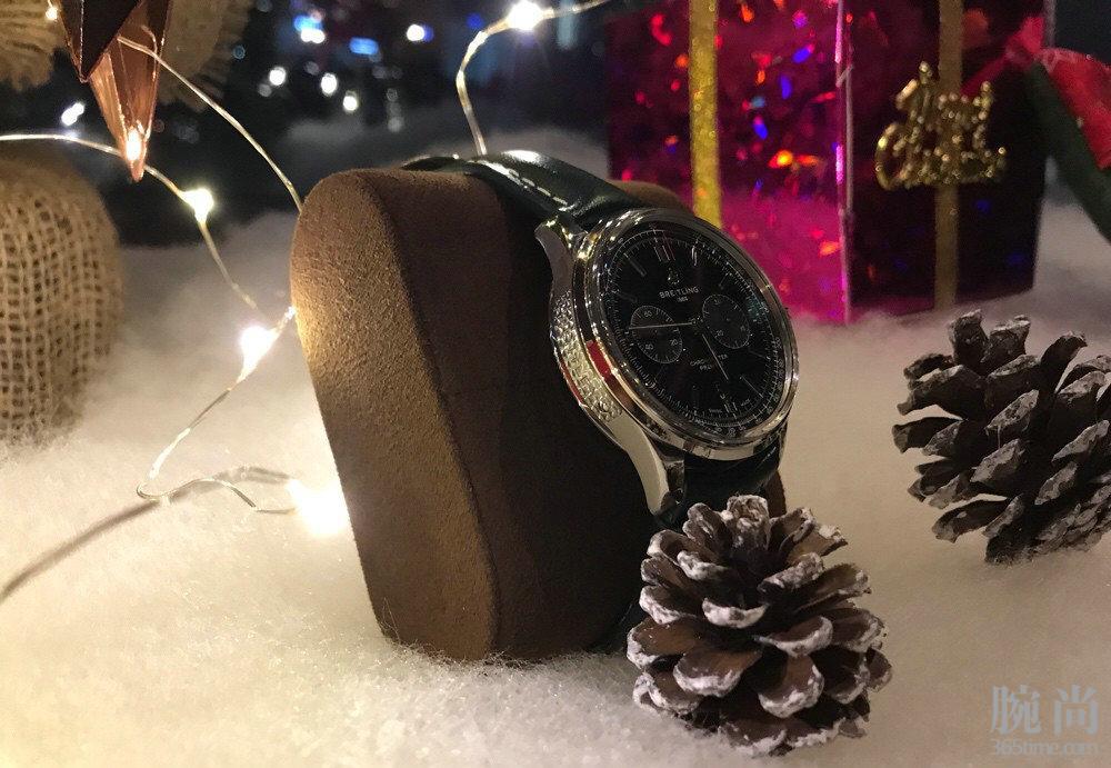 给自己定的圣诞礼物百年灵联名款璞雅到了,开心啊!