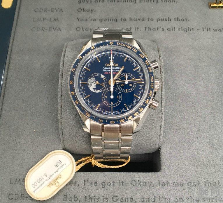 纠结之后,选择了高颜值的欧米茄超霸登月表周年限量款腕表!