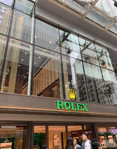 圣诞节香港购入劳力士格林尼治间金GMT小绿针。