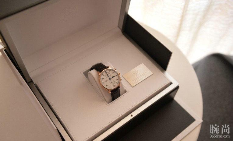 人生中第一只机械表,入手万国150周年葡计红金特别版!