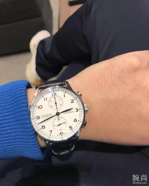 工科男的一大块手表,万国150周年限定版葡计!