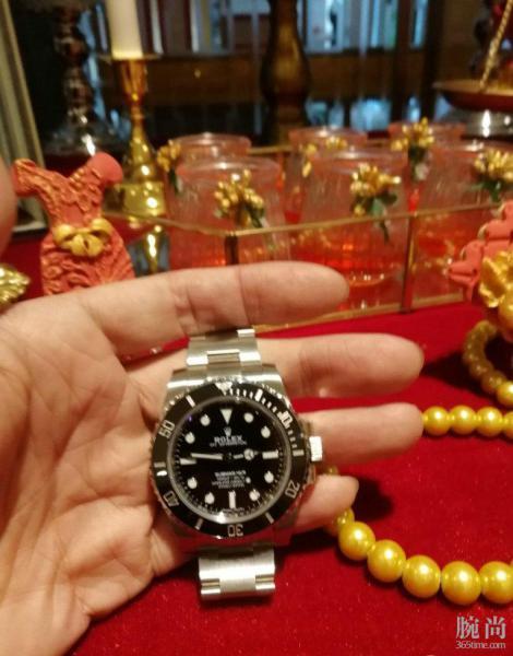 缘分来了,上海专柜购得劳力士无历鬼!