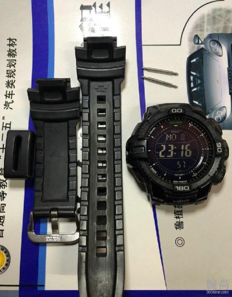 东西用久了真的会有感情,我的第一块手表卡西欧PRG-270-1A!