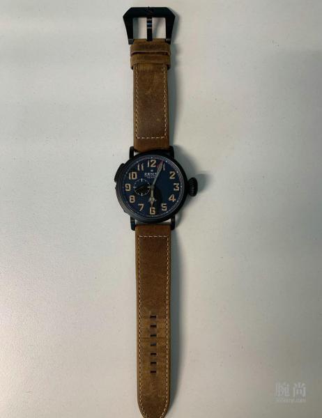功夫不负有心人,觅到已停产的真力时飞行员PILOT TYPE 20 GMT 1903腕表!