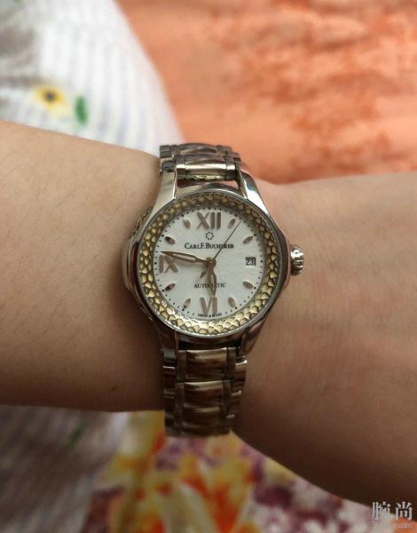 送给女朋友的七夕礼物宝齐莱白蒂诗腕表!