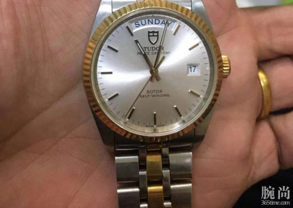 机缘巧合得到的爸爸的帝舵王子系列腕表!