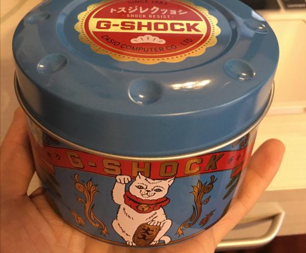 入手的第一只G-SHOCK,便宜又有趣的小方块招财猫!
