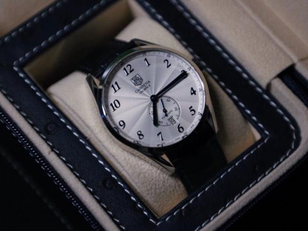 纪念工作后给自己买的第一块表--泰格豪雅卡莱拉传承6!