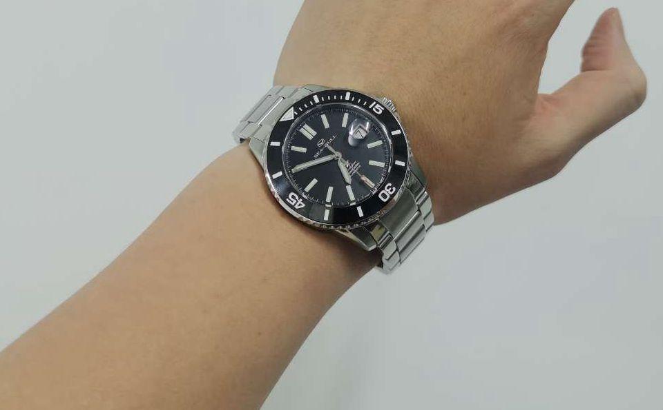 支持国产腕表--海鸥海洋之星入手作业!