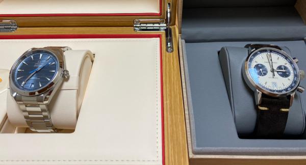 欧米茄蓝盘150购表作业!