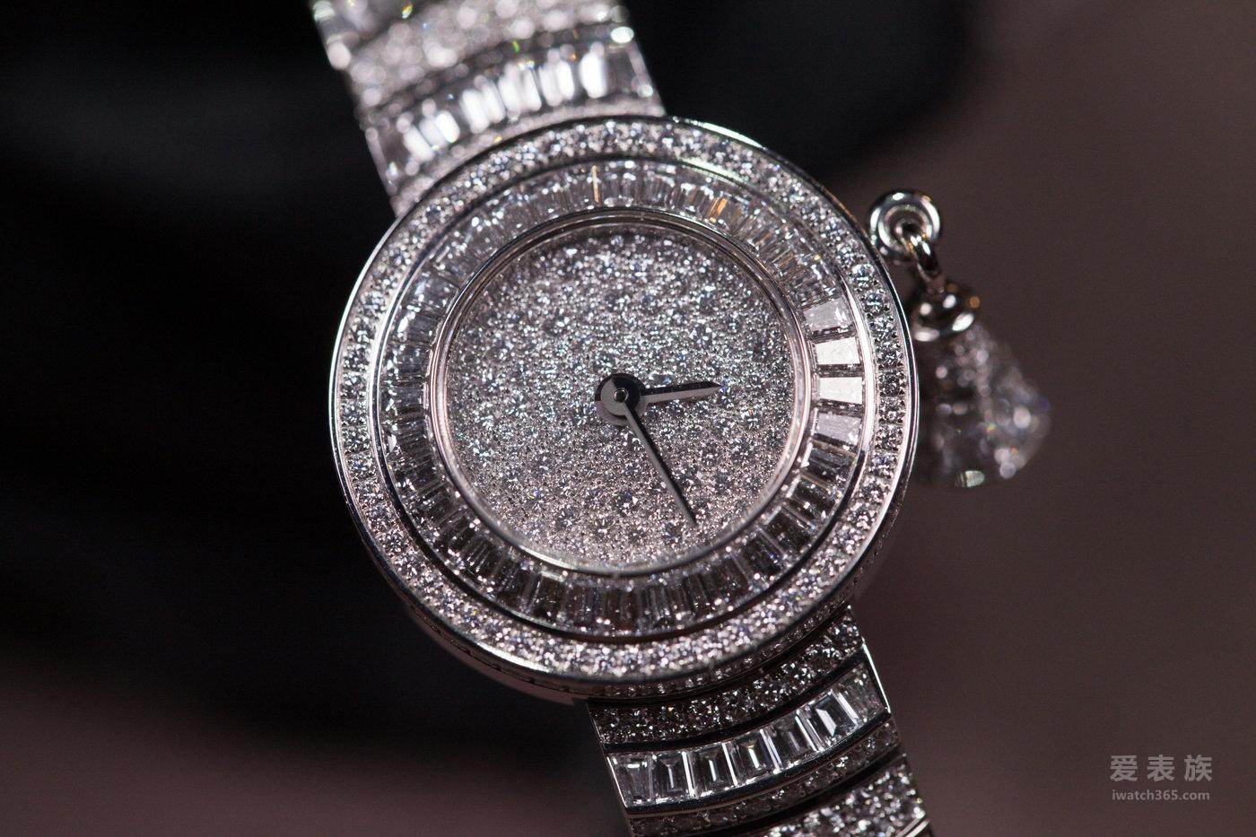 [2016年SIHH日内瓦国际钟表展]梵克雅宝Snowflake及Snowflake Fleurette 高级珠宝腕表