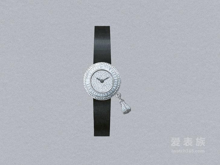 [2016年SIHH日内瓦国际钟表展]梵克雅宝Sweet Charms Pavée 腕表