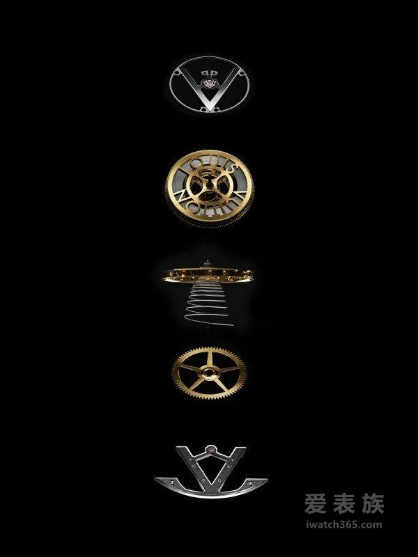 当代精致制表工艺结晶: 路易威登飞行陀飞轮日内瓦印