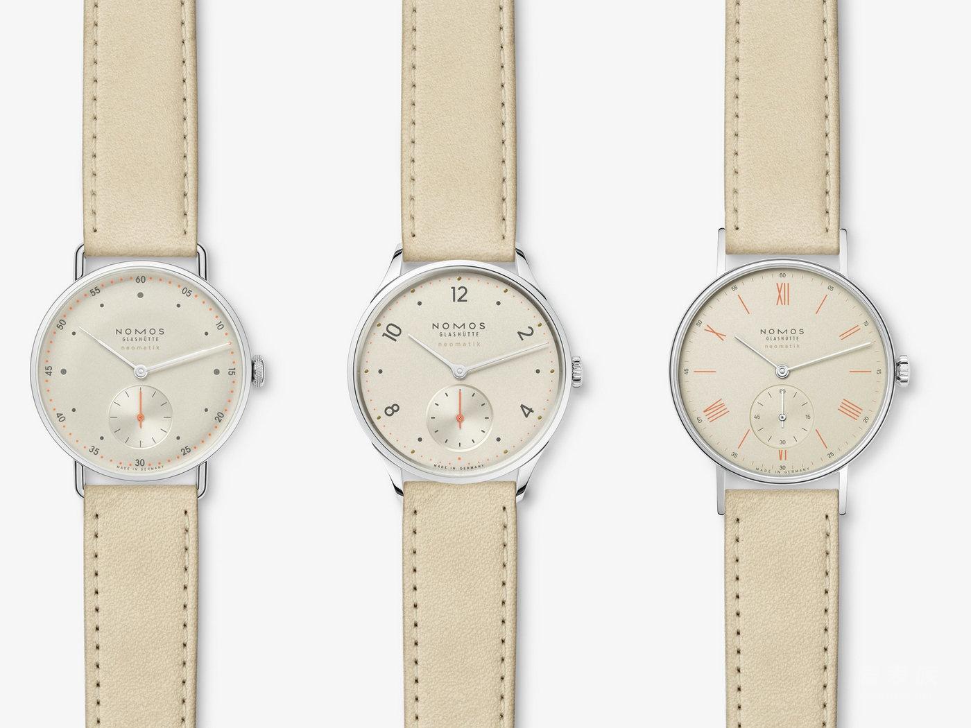 【2016巴塞尔国际钟表展】NOMOS大获成功的neomatik腕表系列实现量产