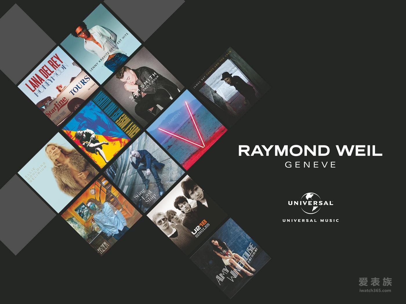 【2016巴塞尔国际钟表展】蕾蒙威与世界顶尖音乐公司—环球音乐成为合作伙伴