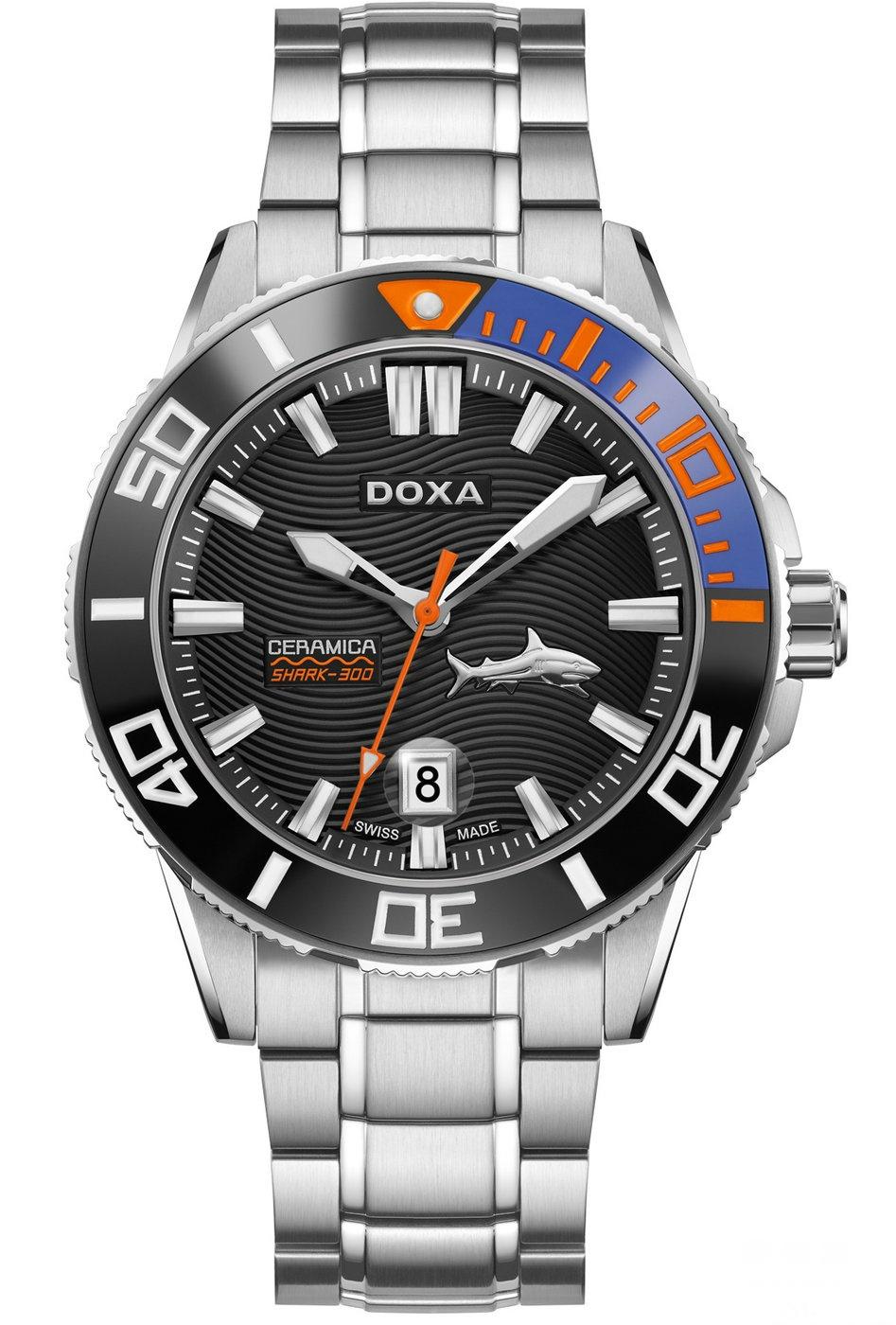 【2016巴塞尔国际钟表展】全新Shark深潜300L系列腕表 尽现动感型格新魅力