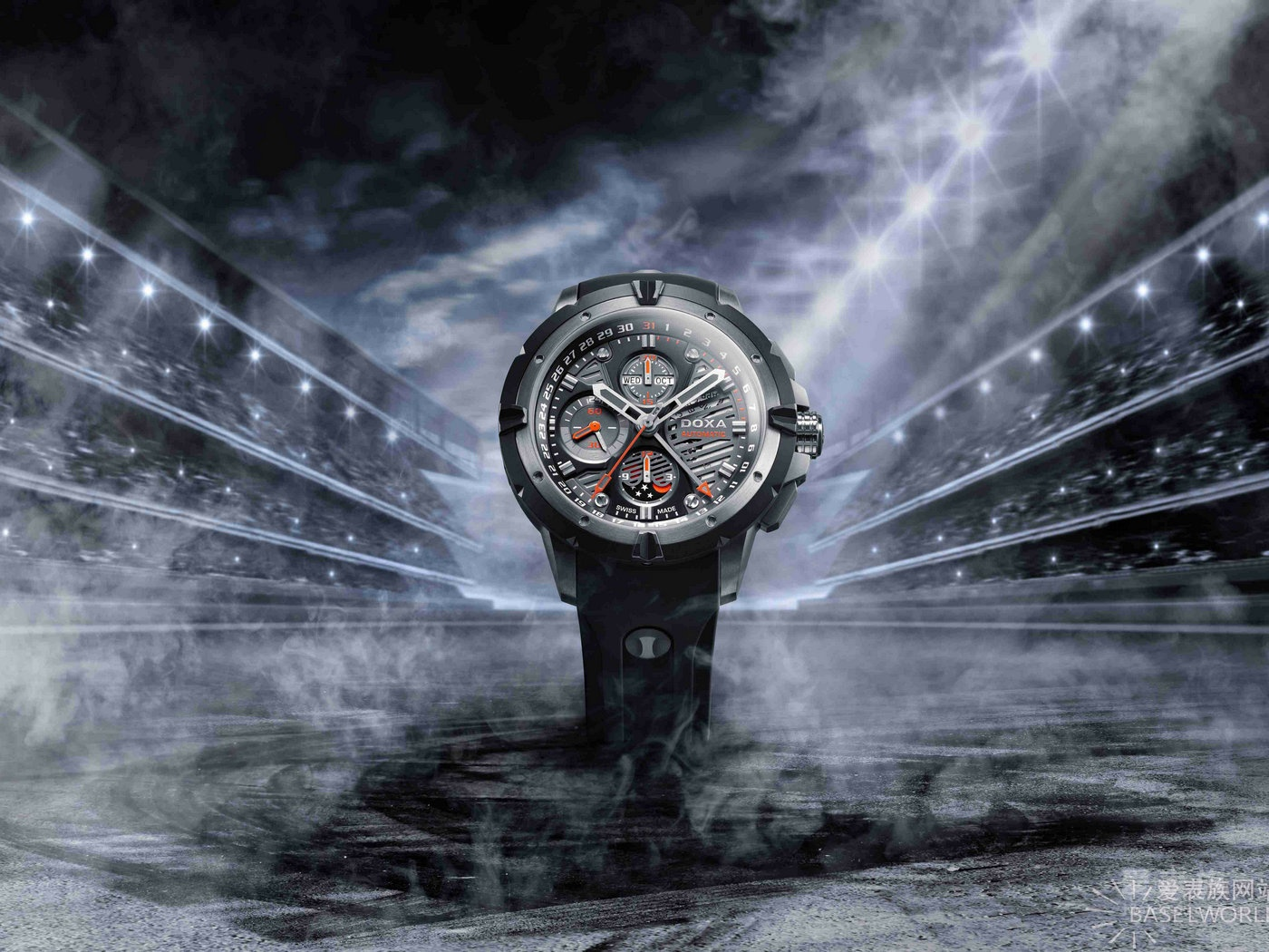 【2016巴塞尔国际钟表展】全新托菲奧Trofeo T-Master限量腕表 引领时尚多功能腕表风范