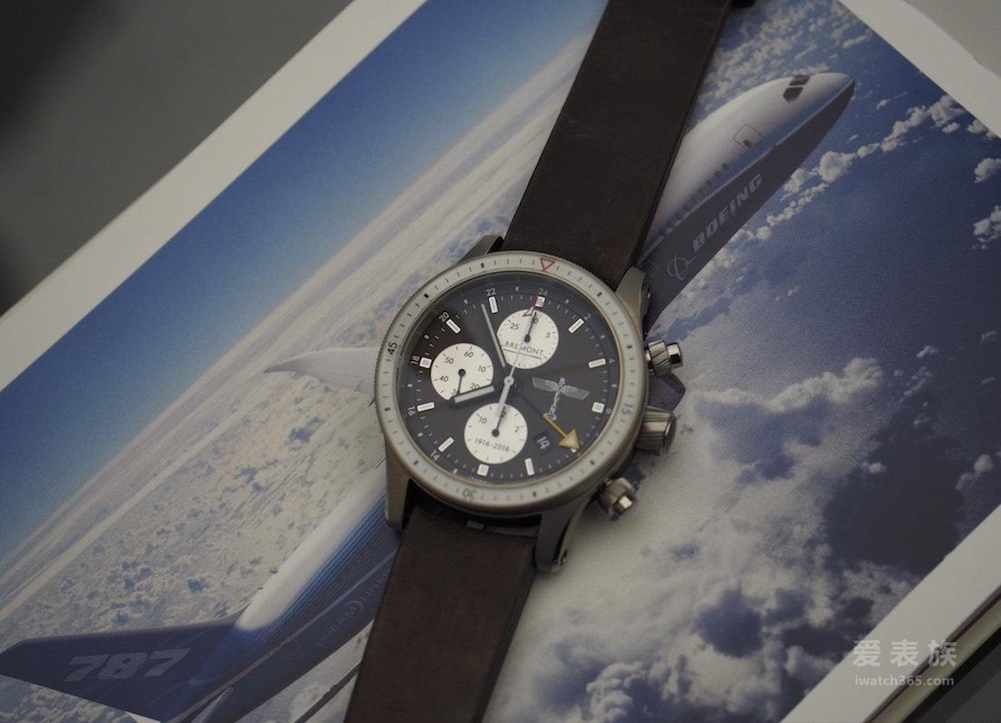 宝名波音100 GMT计时限量版腕表上手简评