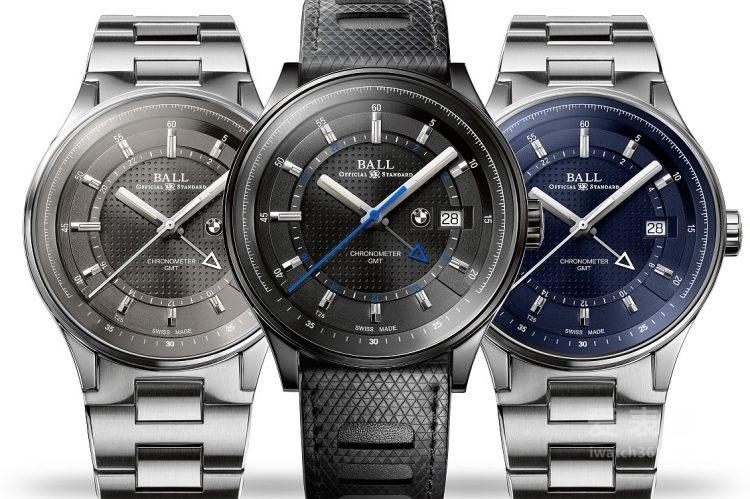 波尔表—把每个行程变成一个旅程:BALL For BMW GMT Chronometer腕表