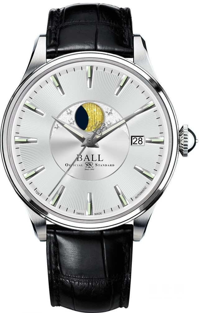 月夜越明─波尔BALL Watch Trainmaster月相腕表