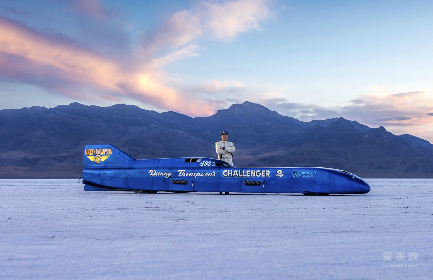 波尔——丹尼·汤普森赛车手及世界纪录保持者