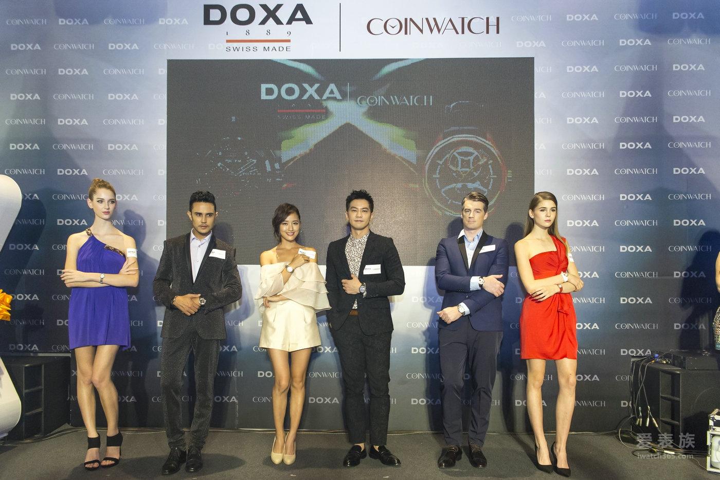 时度联袂 COINWATCH 正式跨足台湾市场 汇集刚柔并济之美 台湾钟表市场增添优质新取向