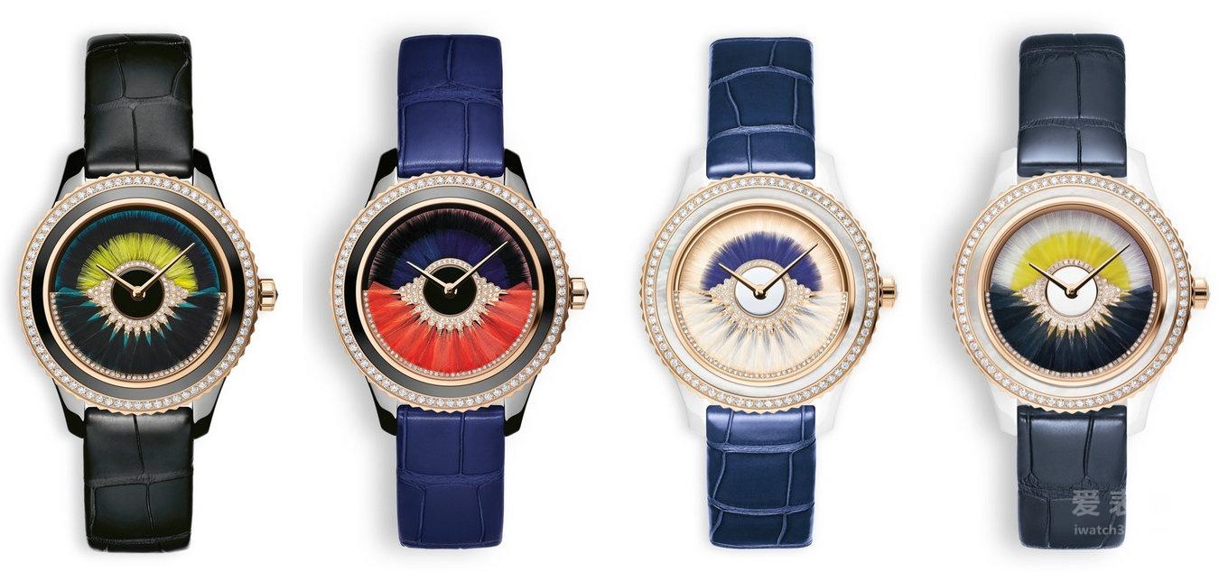 腕上的舞会:迪奥Dior VIII Grand Bal Cancan腕表