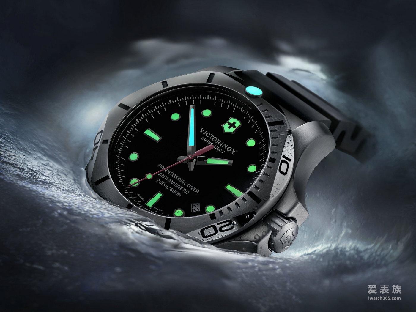 无敌硬汉:瑞士维氏I.N.O.X. Professional Diver腕表