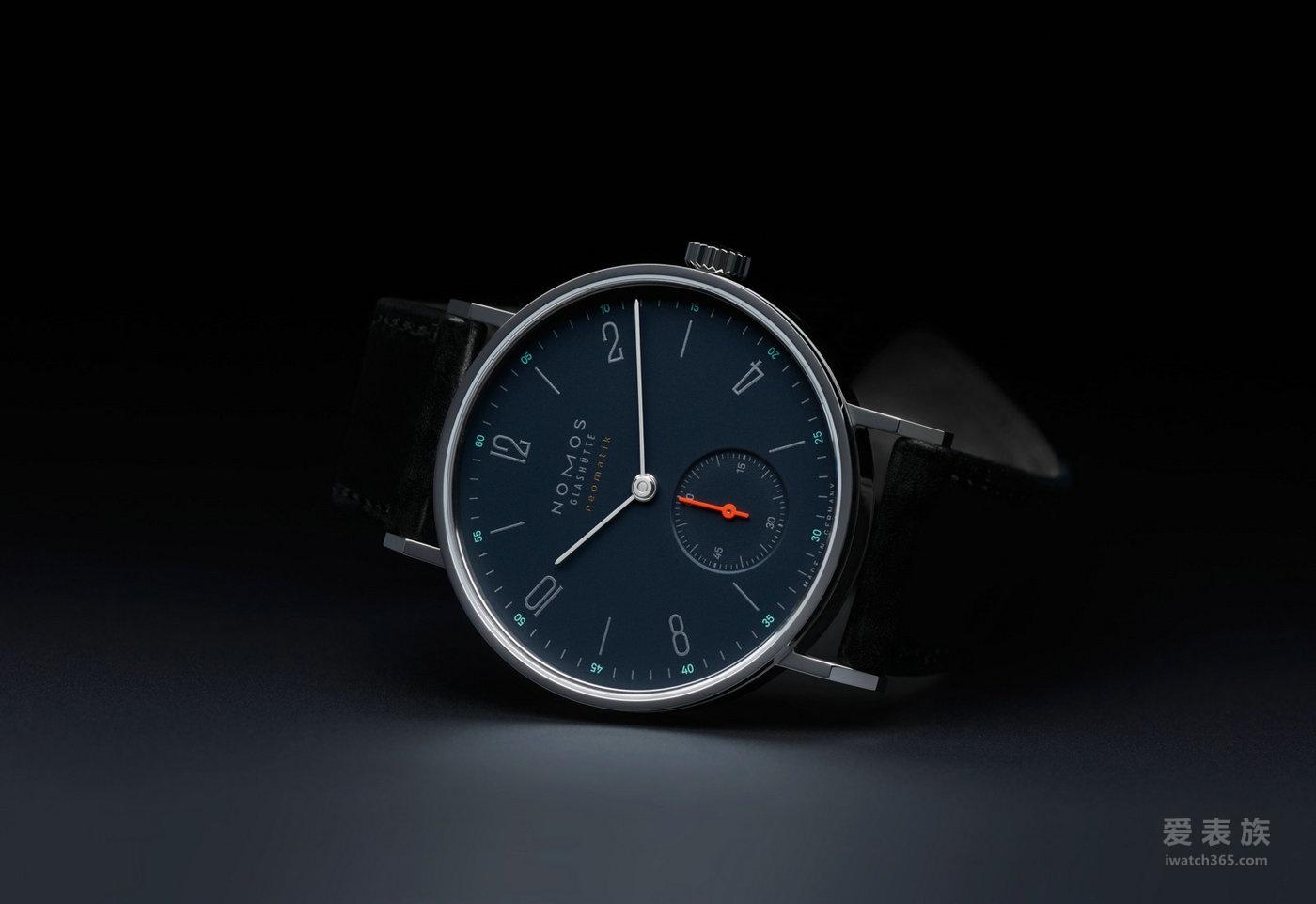 蓝色优雅 NOMOS Tangente neomatik nachtblau腕表