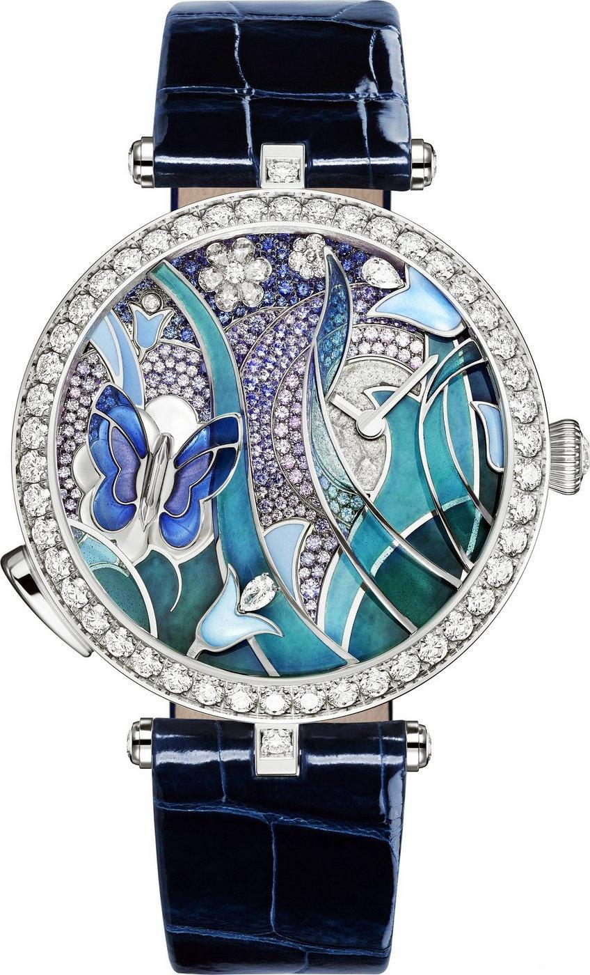 生机盎然的自然灵感 梵克雅宝将推出Lady Arpels Papillon Automate腕表