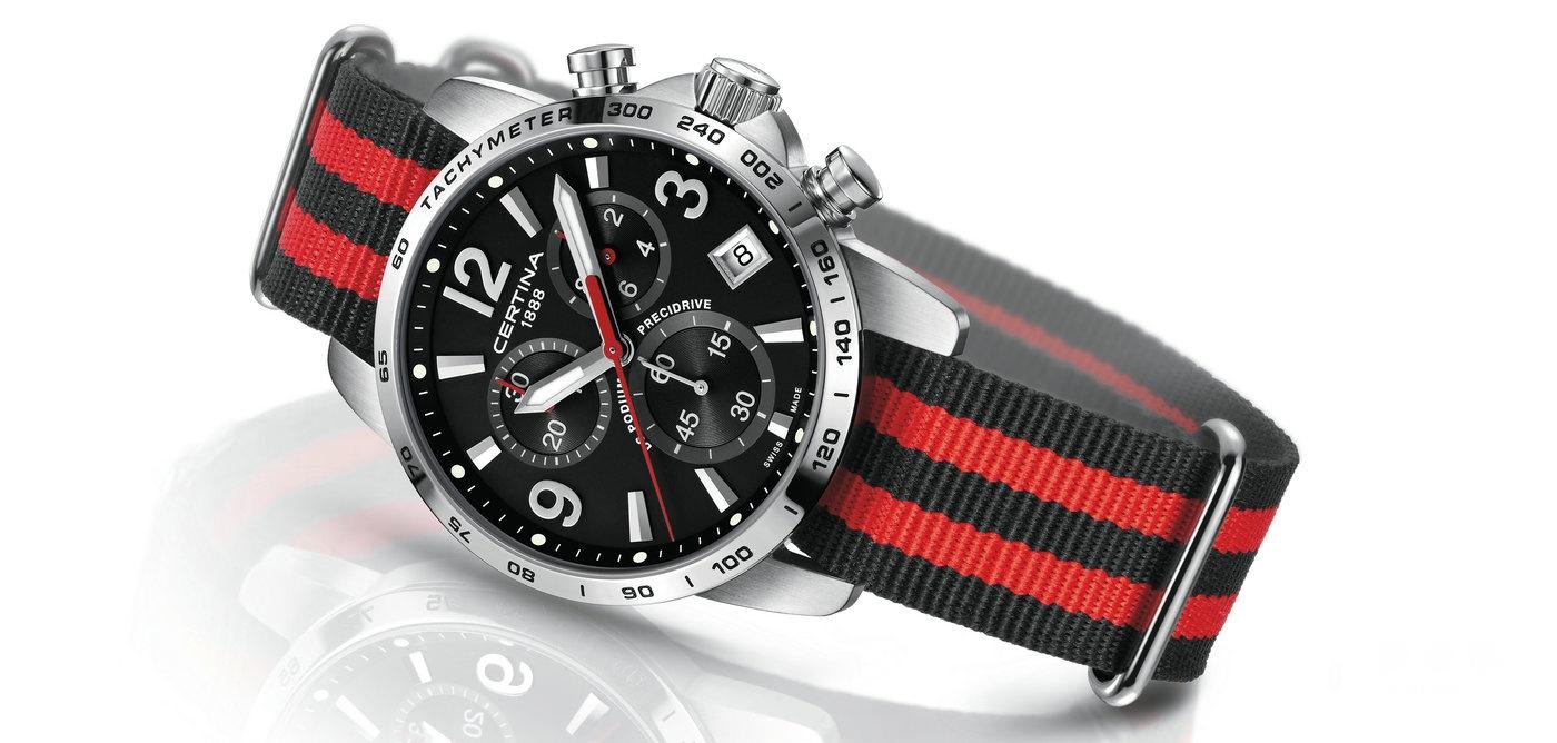 Basel暖场款- 雪铁纳冠军系列1/10秒计时码表登场