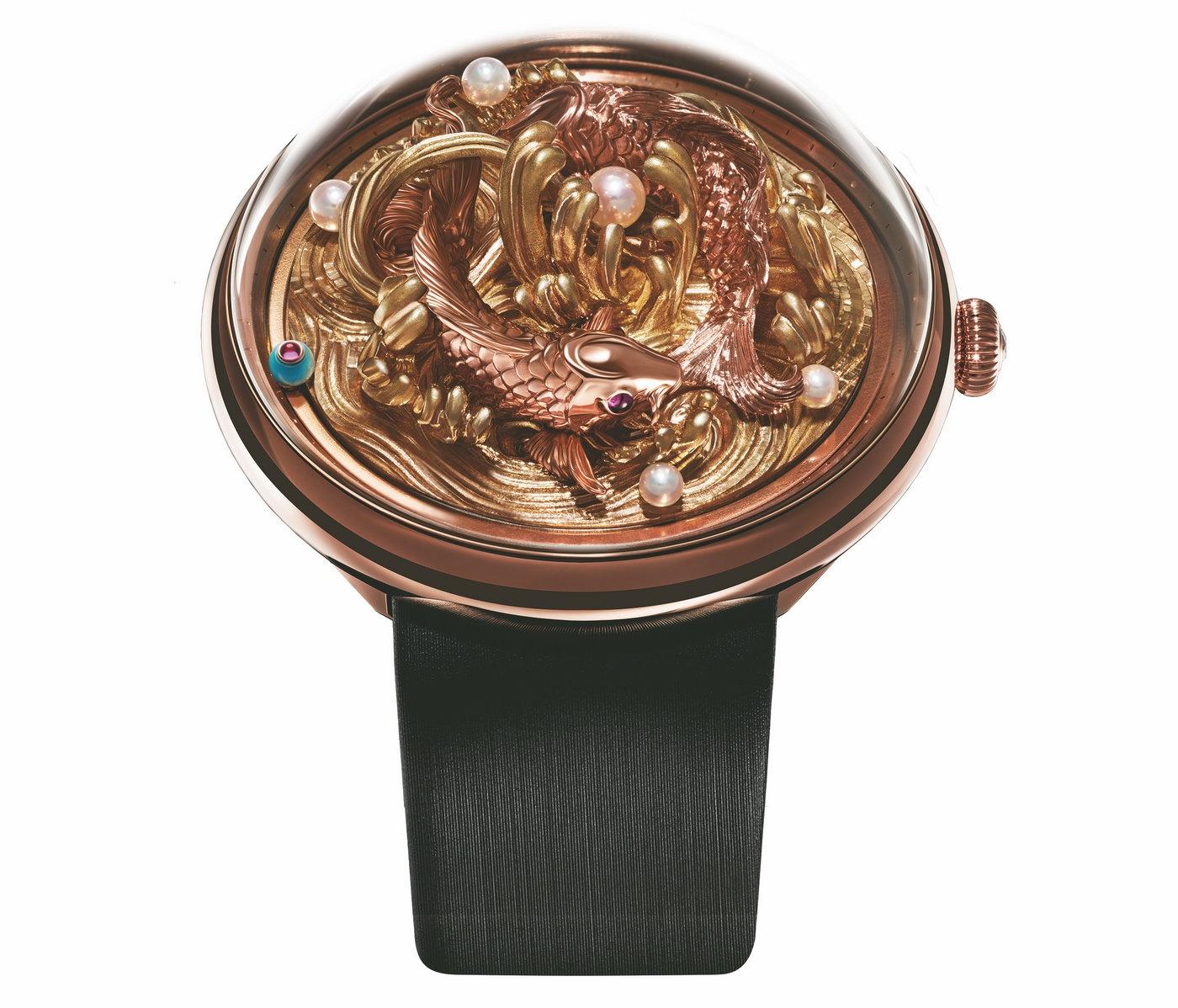 2017巴塞尔钟表展新款东方手作之美,镌刻时光意境 ——飞亚达艺系列精微雕典藏级腕表