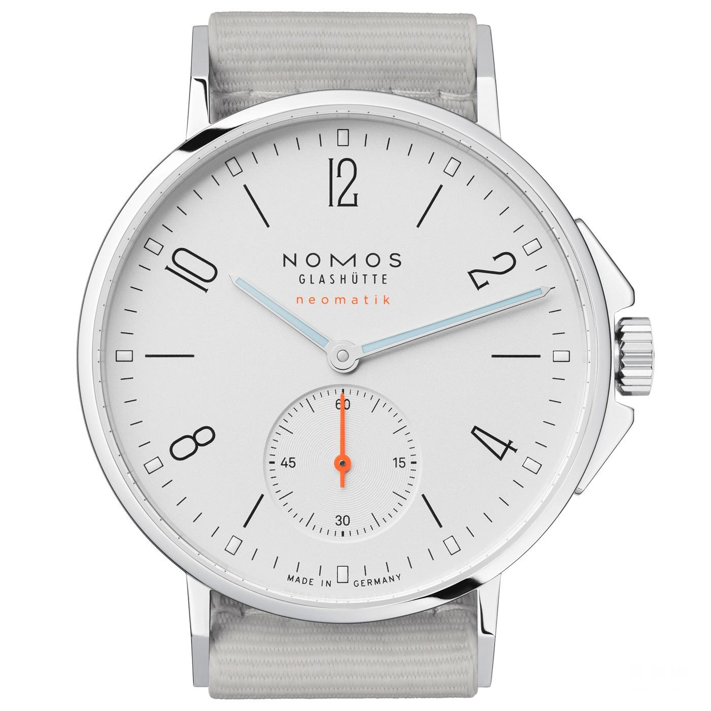 【2017巴塞尔钟表展新款】NOMOS全新 Aqua 系列腕表