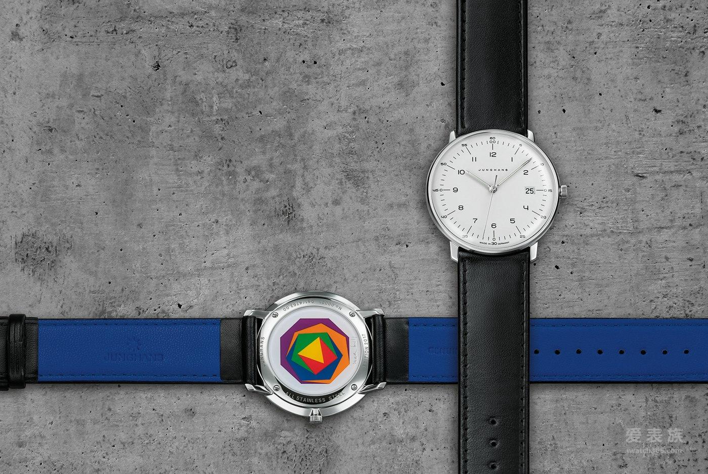 【2017 巴塞尔钟表展新款】荣汉斯新款限量版结合了包豪斯设计巨匠Max Bill的两大杰作