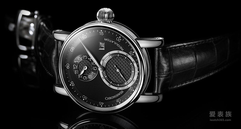瑞宝——夜空般深邃的超凡时计  全新日期放大显示版规范指针腕表