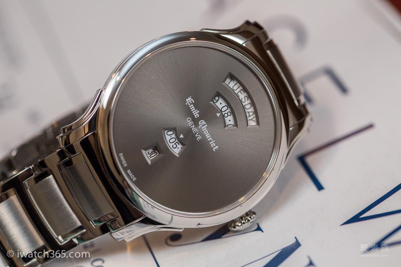 坚持走优雅风的手表--2017年巴塞尔表展艾米龙新款鉴赏