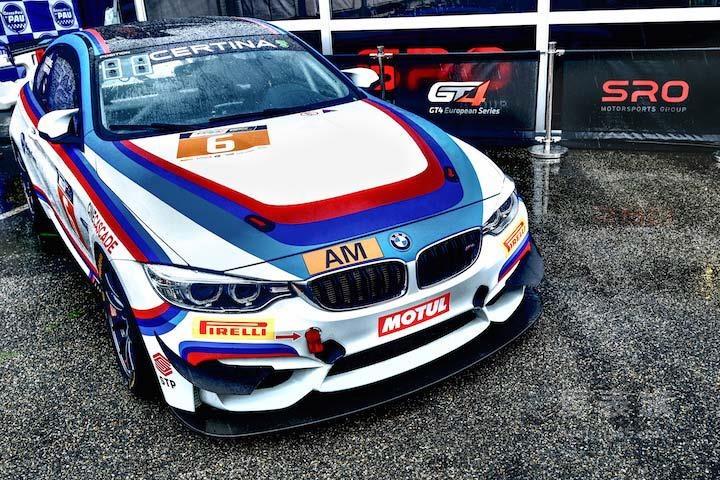 雪铁纳宣布成为 GT4 欧洲系列赛官方合作伙伴