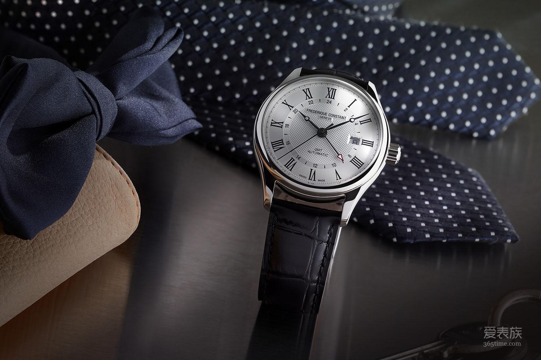 朴素但不缺少气质——康斯登Classics百年经典系列Automatic GMT腕表