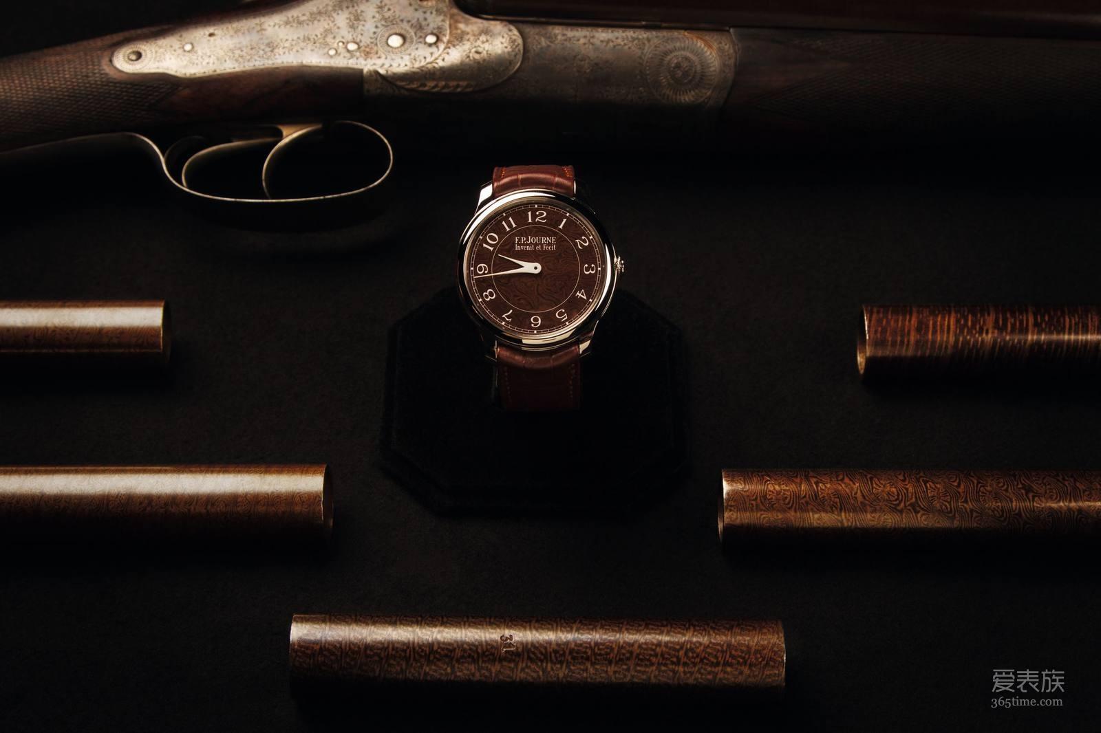 F.P.JOURNE 与 HOLLAND & HOLLAND 携手创制Chronomètre Holland & Holland腕表
