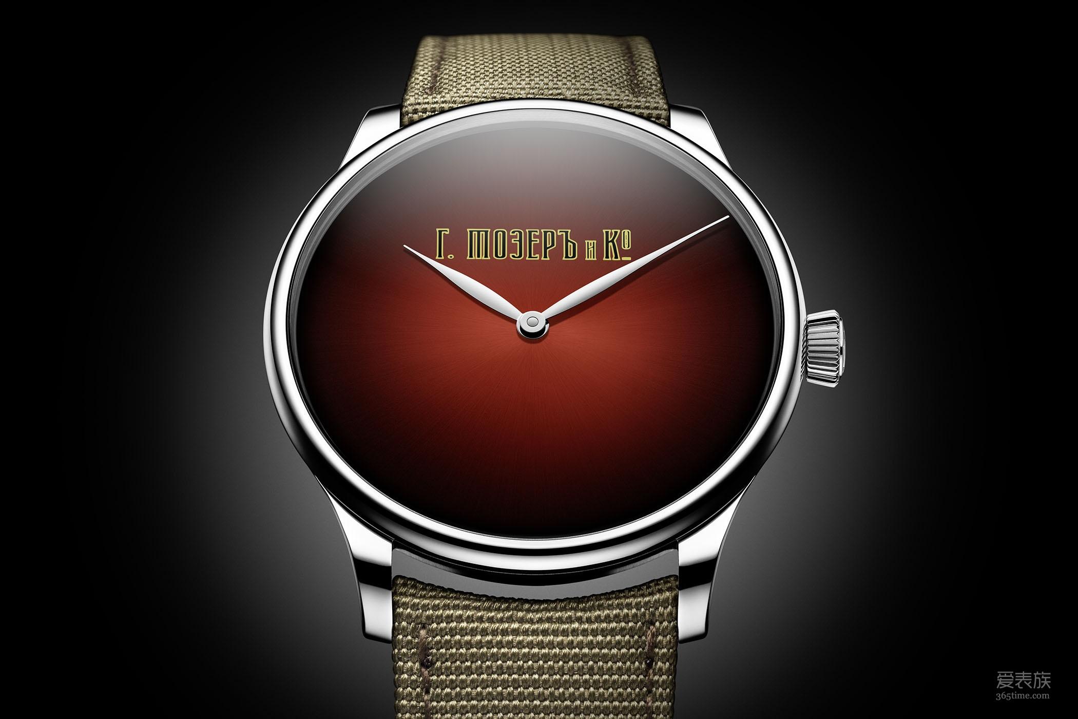 俄国往事——亨利慕时冒险者系列XL Stoletniy Krasniy百年之红腕表