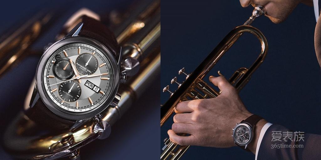现代工艺承袭传统经典 自由骑士自动计时腕表
