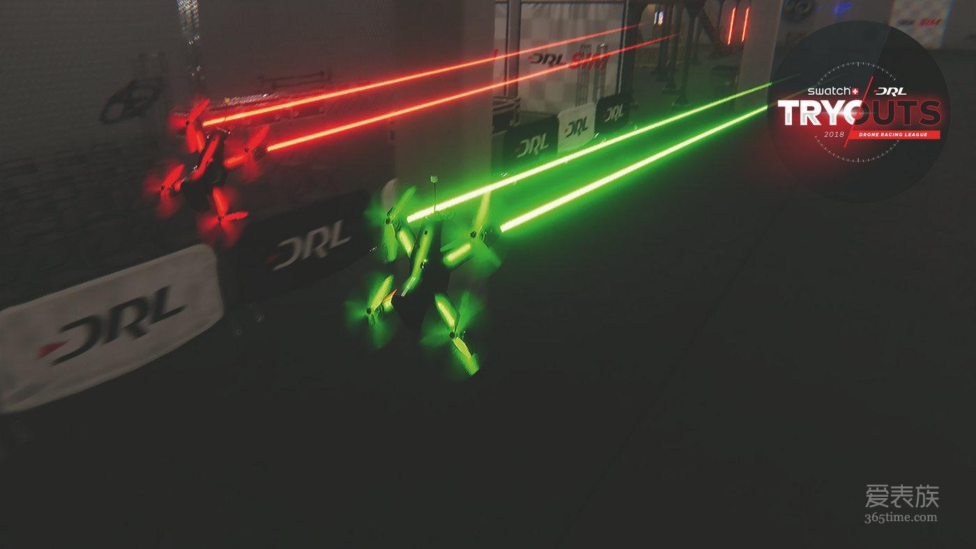 斯沃琪举办无人机竞速联盟选拔赛,挑选SWATCH 2018无人机驾驶员!