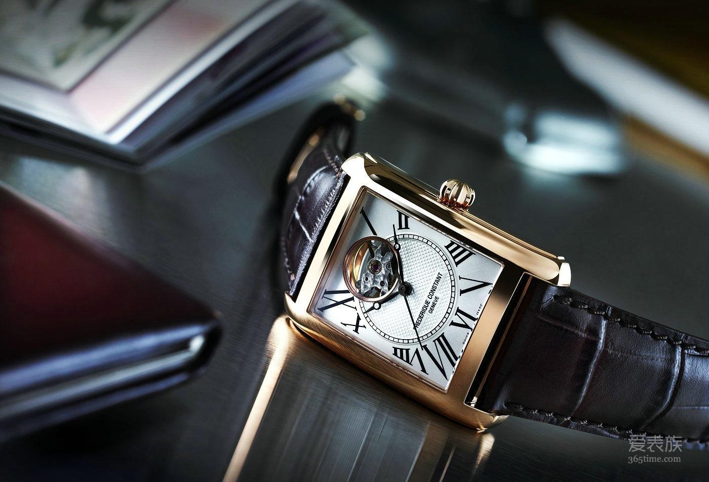 康斯登推出以复古时计为灵感的经典方形复兴腕表
