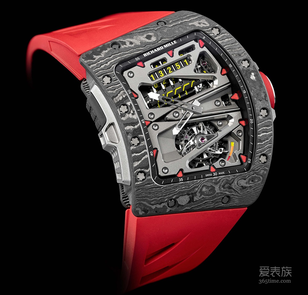 专业计时的又一杰作 品鉴里查德米尔RM 70-01 ALAIN PROST陀飞轮腕表